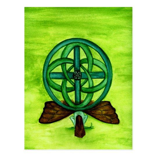Celtic Faerie Postcard