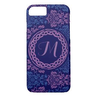 Celtic Floral Monogrammed Phone Case