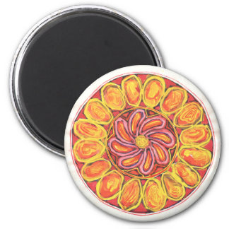 Celtic flower - Abstract Magnet