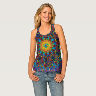 Celtic Flower Power Tank Top