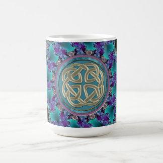 Celtic Fractal Mandala Coffee Mug
