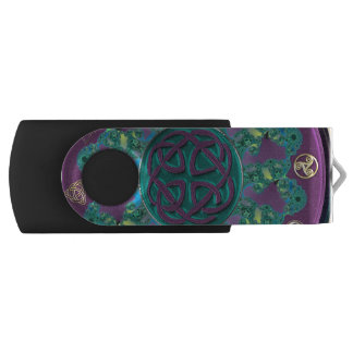 Celtic Fractal Mandala USB Flash Drive