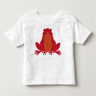 Celtic Frog - Red Toddler T-shirt