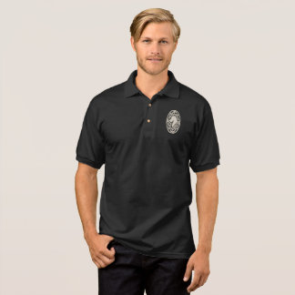 Celtic Great Dane Head Design on Polo Shirt