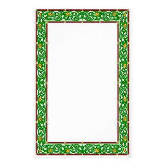 Celtic Green Stationary Stationery