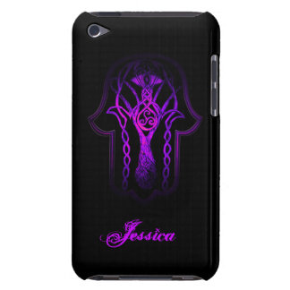Celtic Hamsa Hand (Purple) Case-Mate iPod Touch Case