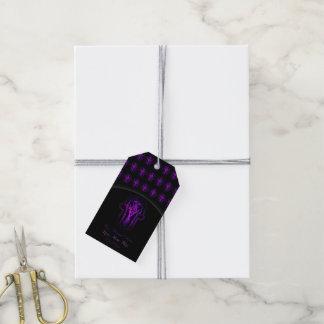 Celtic Hamsa Hand (Purple) Pack Of Gift Tags