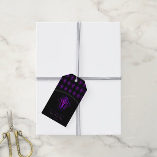 Celtic Hamsa Hand (Purple) Pack Of Gift Tags