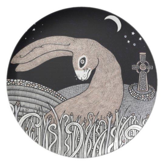 Celtic Hare Decorative Plate