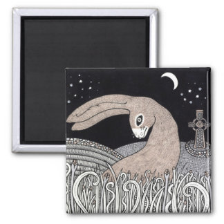 Celtic Hare Magnet