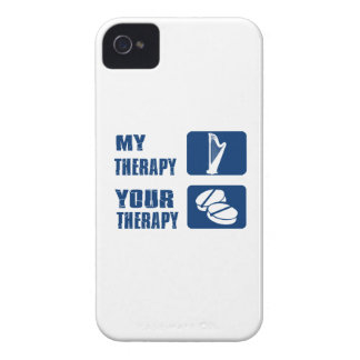 CELTIC harp is my therapy iPhone 4 Case-Mate Case