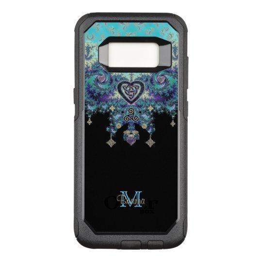 Celtic Heart Fractal Design Monogram Galaxy 8 Case