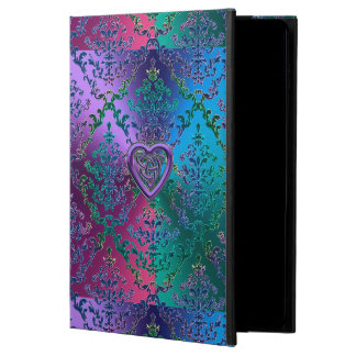 Celtic Heart Knot on Colorful Metallic Damask Powis iPad Air 2 Case