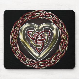 Celtic Heart Mousepad