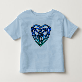 Celtic Heart (ocean version) Toddler T-shirt