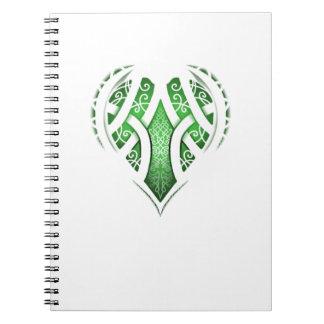 Celtic Heart Tattoo Design Notebook