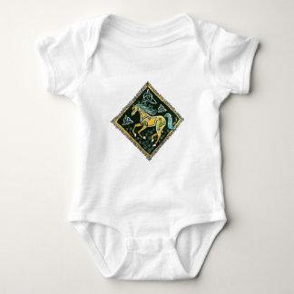 Celtic Horse Baby Bodysuit