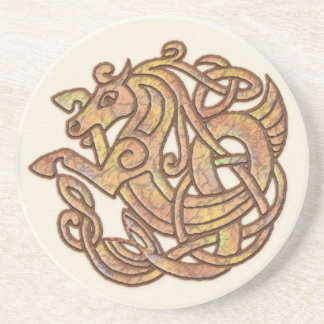 Celtic Horse Beverage Coasters