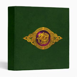 Celtic Horse Design 3 Ring Binders