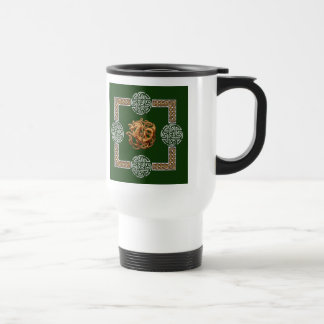 Celtic Horse Design Travel Mug