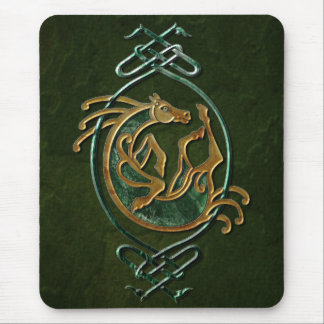 Celtic Horse - stone Mouse Pad