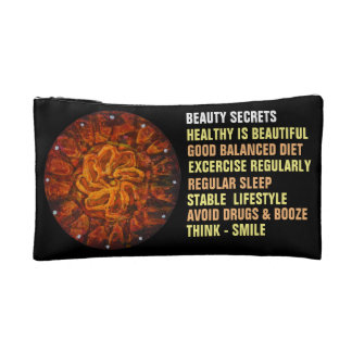 Celtic hot flower - Abstract Cosmetic Bag