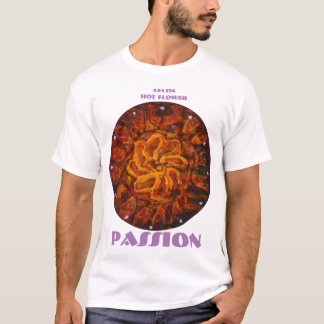 Celtic hot flower - Abstract Passion shirt