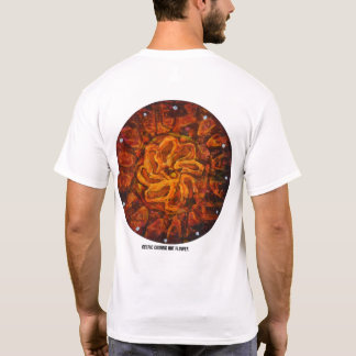 Celtic hot flower - Abstract Tshirt