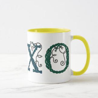 Celtic Hugs & Kisses mug