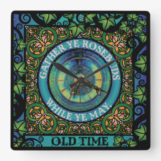 Celtic Impermanence Square Wall Clock