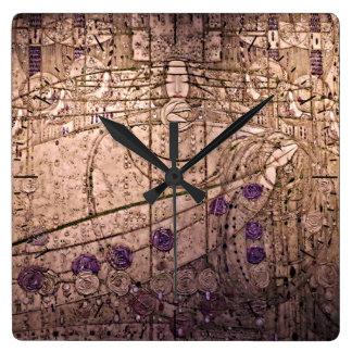 Celtic Inspired Art Nouveau Timepiece Clock