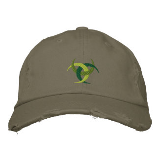 Celtic Irish culture Design on Embroidered cap
