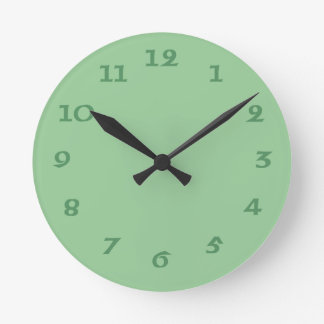Celtic Irish Green Wall Clock