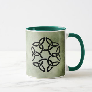 celtic irish sacred symbols mug