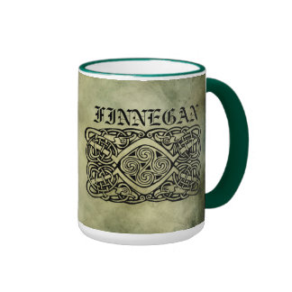 celtic irish surname sacred symbols coffee mug