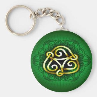 Celtic key chain