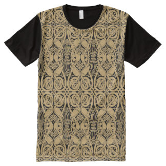 Celtic Knot Animals Lindisfarne Pattern All-Over-Print T-Shirt