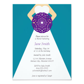 Celtic Knot Bridal Shower Invitation