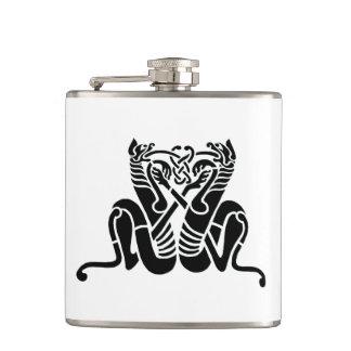 Celtic Knot Cats Flasks