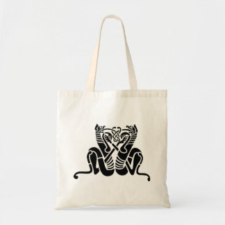 Celtic Knot Cats Tote Bag