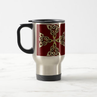 Celtic Knot Cross 2 Travel Mug