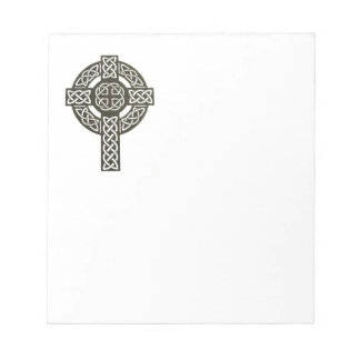 Celtic Knot Cross Notepad