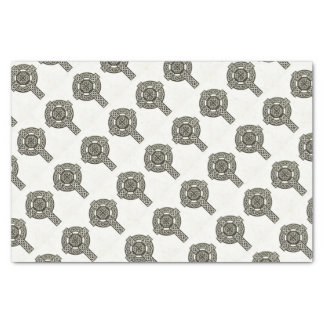 Celtic Knot Cross Tissue Paper