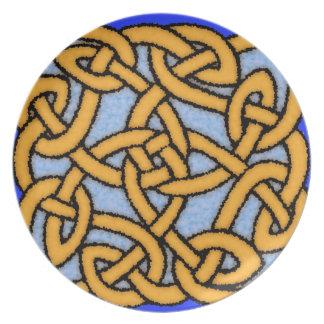 Celtic Knot Design No. 1 Plates