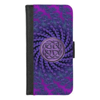 Celtic Knot Fractal iPhone 6 Plus Wallet Case