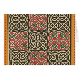 CELTIC Knot Graphic Greeting Card