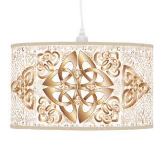 Celtic Knot Hanging Pendant Lamp
