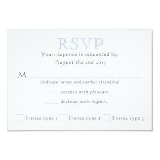 Celtic Knot Initials - RSVP Card
