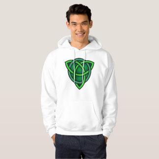 celtic knot ireland ancient symbol pagan irish gre hoodie