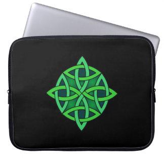 celtic knot ireland ancient symbol pagan irish gre laptop sleeve